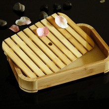 Bamboo Sushi Plates Trays Stations Sushi Barrels Rectangular Japanese and Korea Food Container Sushi Appliance(China)