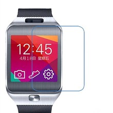 DHL 100pcs/lot 0.3mm 2.5D Premium Tempered Glass Film Screen Protector For Samsung Gear 2 R380 Smart Watch+Retail box(China)