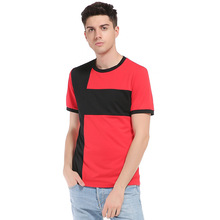 Eu&America Style Casual Tee Tops Men Short Sleeve Round Collar Men's T Shirts Slim Fit Fashion Cross T-Shirt Men Clothes 2XL-S