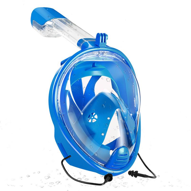 Snorkel mask diving