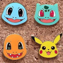 Act the role ofing is tasted can eckart wow the animation cartoon game Pikachu elf image badge brooch men and women