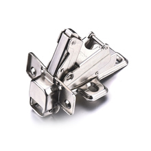 Cheap Furniture Accessories Hydraulic CRS Hinge For Door And Cabinet Diameter Of Installation Hole 4mm