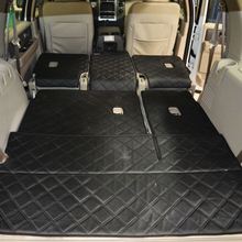 special car rugs case for new imported Explorers / conquerors waterproof leather trunk mats full seven warehouse pad(China)
