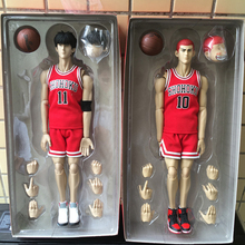 Slam Dunk 10# Hanamichi Sakuragi Variant Action Figure 1/6 scale painted figure 11# Rukawa Kaede Variable PVC figure Toys Anime