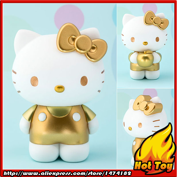 100% Original BANDAI Tamashii Nations Figuarts ZERO Collection Figure - Hello Kitty (Gold)<br>