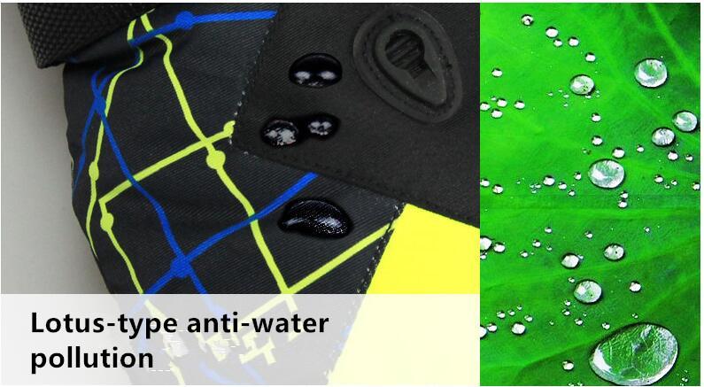 Men Women Ski Gloves Winter Waterproof Anti-Cold Warm Gloves Outdoor Sport Snow Sportswear Skiing Gloves 8