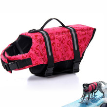 New arrival Pet dogs life jackets Dog Coats Pet Life Vest Saver Swimming Preserver Safety Swimsuit Big Dog Clothes(China)