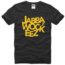 Jabbawockeez Letter Printed Men's T Shirt Famous Clothing Hip Hop Short Sleeve Cotton T Shirts Street Dance T shirts Men Top Tee