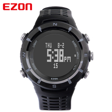 EZON Sport Watch Men Digital Watch Compass Altimeter Outdoor Sports Watch for Hiking Men Wristwatch with Calendar Montre Homme