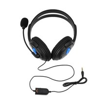 Buy Black 3.5mm Headphone Headset Microphone Wired Sony PS4 PlayStation 4 /PC Computer Game Gaming Earphone for $6.97 in AliExpress store