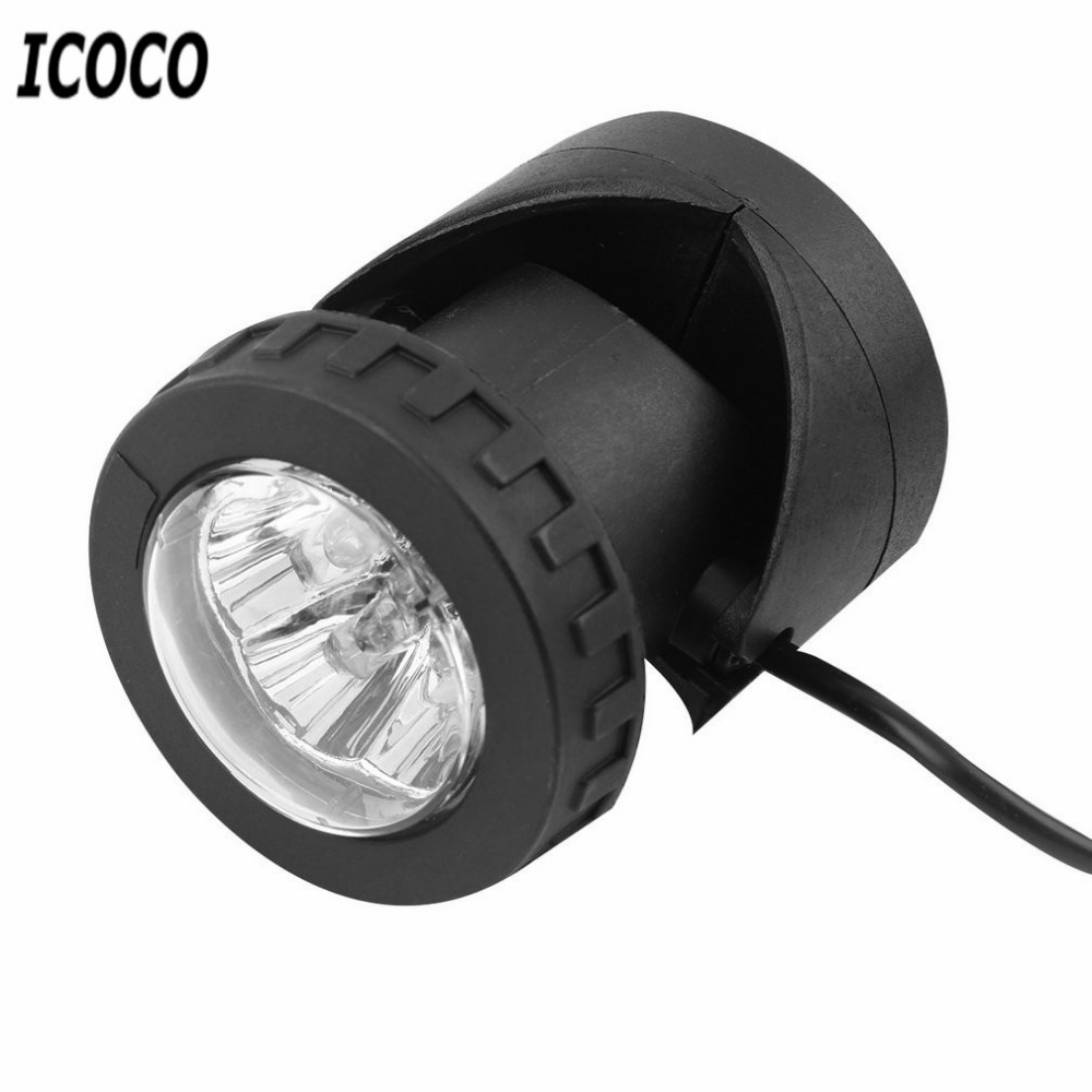 ICOCO Portable LED Outdoor Solar Powered Spotlight White Waterproof LED Landscape Light Solar Garden Lamp(China (Mainland))