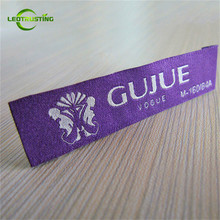 1000pcs Custom Logo Brand Damask Woven Clothing Labels Tags for Clothes Customized Garment Shirt Hair Wig Name Main Labels