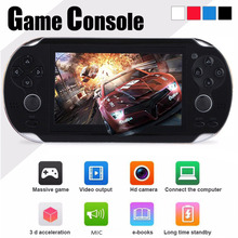 Best 4.3 inch color screen handheld game console 8GB memory not for psp console for nes games TFT Screen 8GB MP4/MP5/PMP/Camera(China)