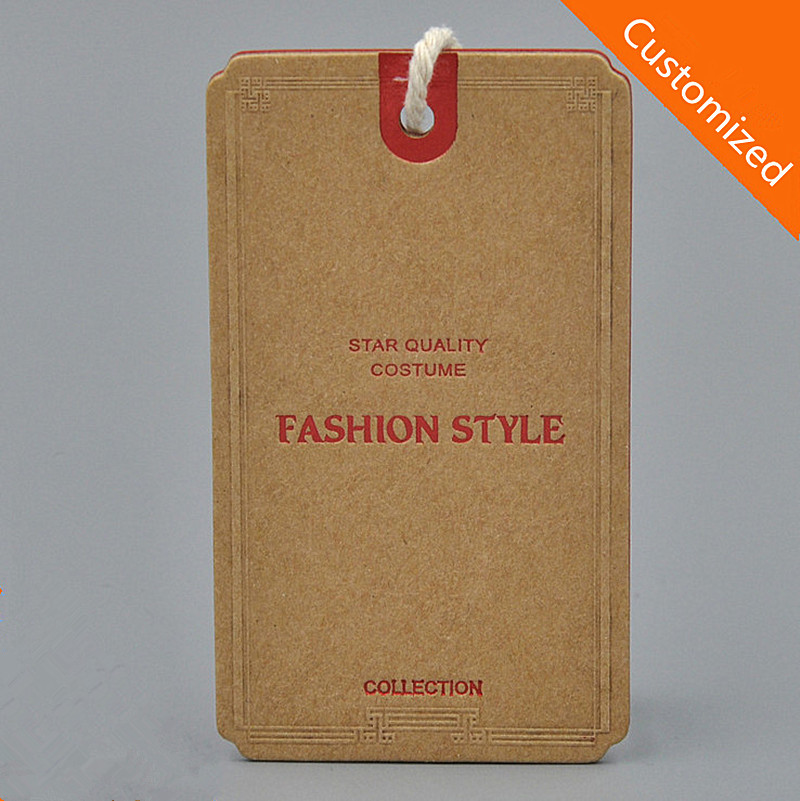 Compare Prices on Customized Kraft Hangtag- Online Shopping/Buy ...