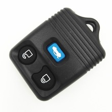 Replacement 3 Buttons Blue Button Remote Case Cover Blank Key For Ford Explorer Mercury Mazda Key Shell No Chips Inside