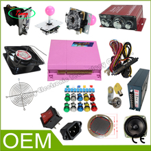 Arcade Stick Kit Pandora Box 4S  DIY Arcade Part Jamma Loundspeaker Buttons Coin Selector Control Board Games For Arcade Cabinet