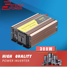 Professional manufacturer off grid inverter 220v 300w 12v 24v 60hz 50hz pure sine wave inverter / converter