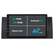 Android 7.1 RAM 2G Quad Core 1024*600 1080P 1 Din Car GPS DVD Player For BMW E39 X5 M5 E38 E53 Can Bus Radio 3G 4G WiFi DAB TPMS
