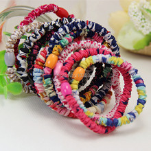 2015 euramerican style restoring ancient ways of fashion floral elastic hair bands women hair accessories(China)