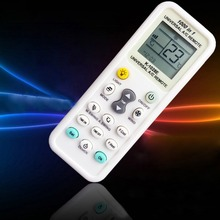 Wholesale 10pcs/lot ZWBUMD Universal Worldwide Air Conditioner Remote Control Controller K-1028E LCD Display A/C Muli - White