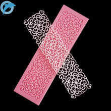 LINSBAYWU 1 pcs Wedding Cake Decoration Mould Silicone Cake Chocolate Mould Pastry Tools Silicone Lace Mat for Fondant