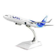 LAN Airlines Boeing 737 Chile 1:400 16cm Metal Alloy Model Plane Toy Airplane Birthday Gift Free Shipping