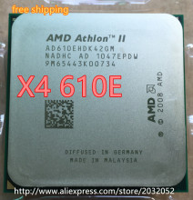 AMD Athlon II X4 610E CPU Processor Quad-CORE (2.4Ghz/ L2 2M /45W ) Socket AM3 (working 100% Free Shipping)(China)