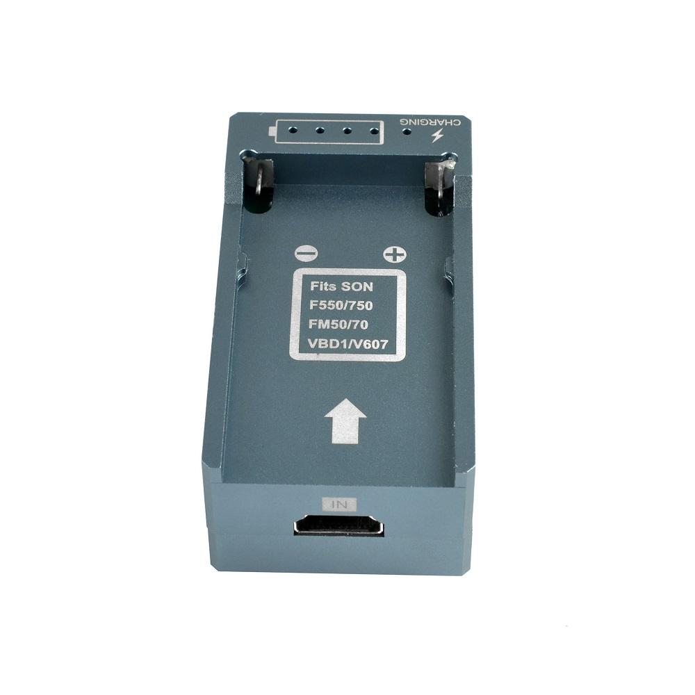 HSV191Bat HDMI to SDI Converter with Battery Charging 1080p Mini HDMI to SD-SDI HD-SDI 3G-SDI Adapter Converter (3)