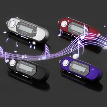 DOPTOP Mini MP3 Music Player LCD Display 8G Digital MP3 Player USB Stick Support Micro SD/TF FM Radio Card Reader U Disk(China)