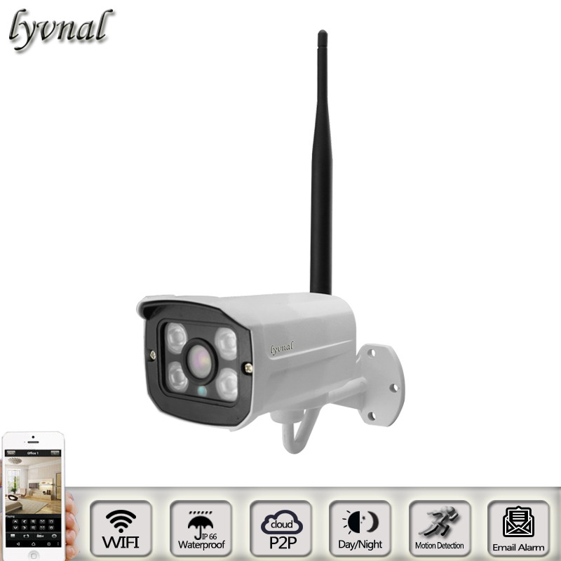 sony wifi camera p2p onvif 4pcs array led night vision waterproof bullet ip camera Security Surveillance wifi system<br>