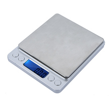 2000g/0.1g Mini Balance Portable Digital Scale weights Jewelry Electronic Scale pocket pesas Weighing luggage scale Platform