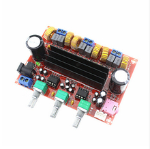 DC12V-24V 2*50W+100W XH-M139 2.1 Channel digital Subwoofer Amplifier Board Chip TPA3116D2