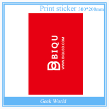 Bigtree Tech 1PCS 300*200MM Red Painter Print Bed Tape Print Sticker Build Plate Tape