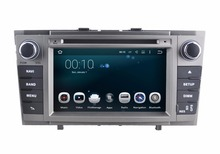 1024x600 Android  5.1 Car DVD GPS for Toyota Avensis 2008-2013 with Bluetooth Radio RDS Wifi Mirror-link Free 8GB Map card