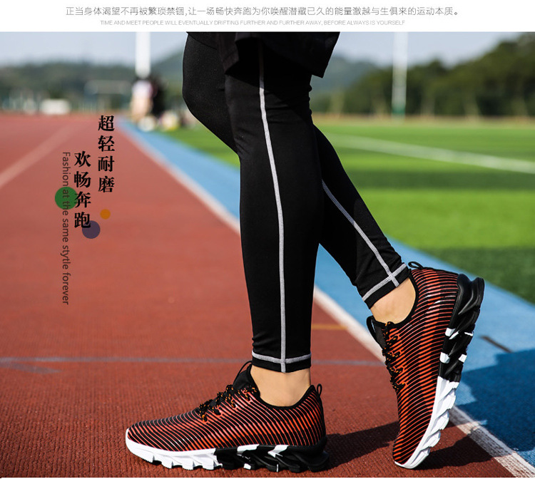 17New Hot Light Running Shoes For Men Breathable Outdoor Sport Shoes Summer Cushioning Male Shockproof Sole Athletic Sneakers 21