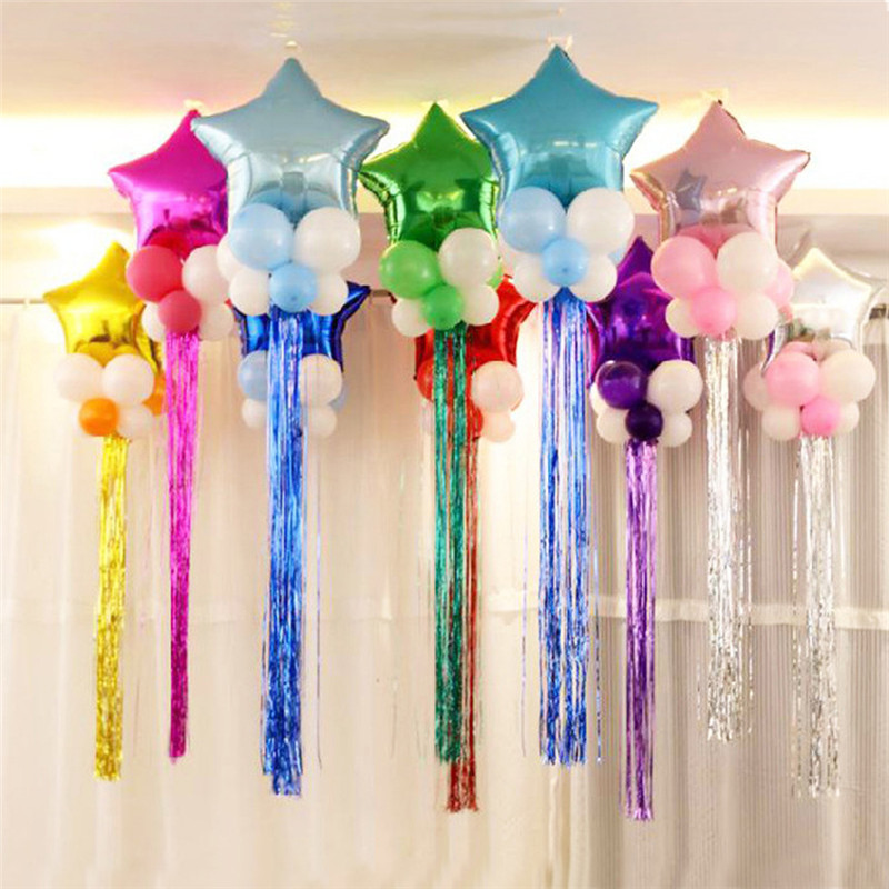 "Happy Birthday 10/"" Latex Balloons by Party Decor Unicorns 15+15m matching Ribbon"