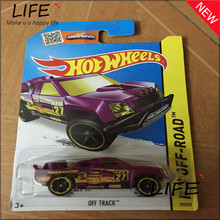 Free Shipping Hot Wheels Purple suv Off Track Car Models Metal Diecast Cars Collection Kids Toys Vehicle For Children Juguete(China)