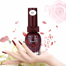 BK Brand Wine Bottle Water Base Peel Off Nail Polish Smell Faint Fragrance Nail Lacquer Pure Sweet Colors Enamel Paint(China)
