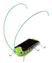 LeadingStar Great Lovely Solar Powered Grasshopper Great Solar Toy for Children or Decoration(China)
