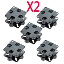 10X CC3D Mini APM CC3D Atom Flight Controller Anti-vibration Damper Shock Absorber for FPV RC 250 260 Multi Quadcopter Q14710-10