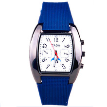 best selling product 2016 TADA branded precise quartz movement pu plastic band aviation military sports mens watches women dress(China)