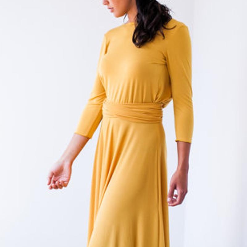 The Wonder Dress - Long Sleeve Design Multi Convertible Petite Sizes (Us 2- 10)