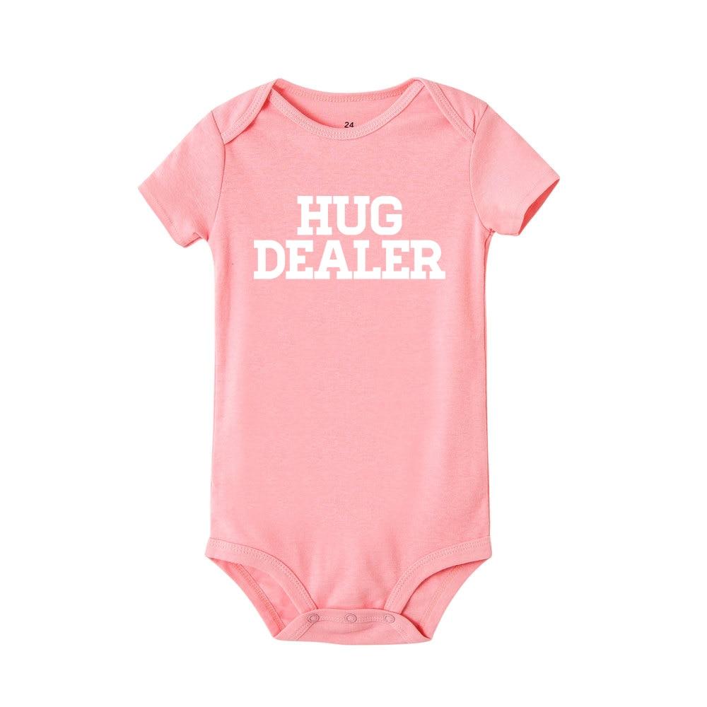 Hug Dealer Baby Vest Baby Grow 100/% Cotton Boys Girls Bodys