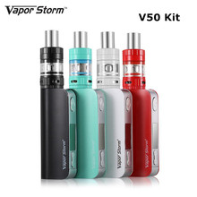 Buy Vapor Storm 50W box mod kit Electronic cigarette TC Temperature Control Hookah Pen Vape 2200mah Built-in Battery E Cigarette for $35.00 in AliExpress store
