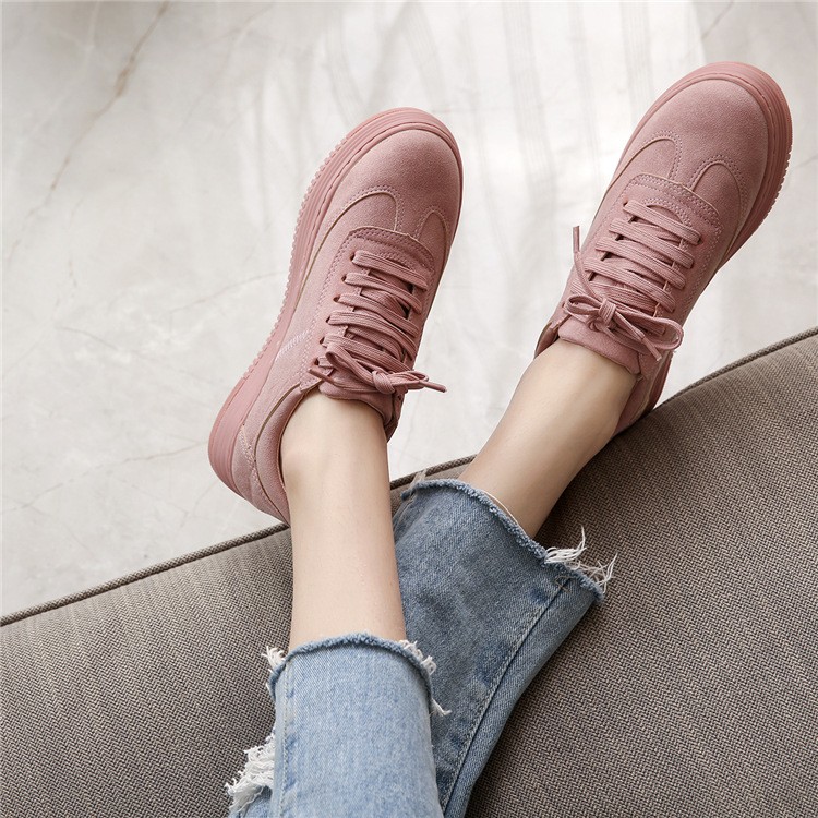 17 Women White Shoes Autumn Winter Soft Comfortable Casual Shoes Flats Platform Sneakers Real Leather Shoes Sapato Feminino 12
