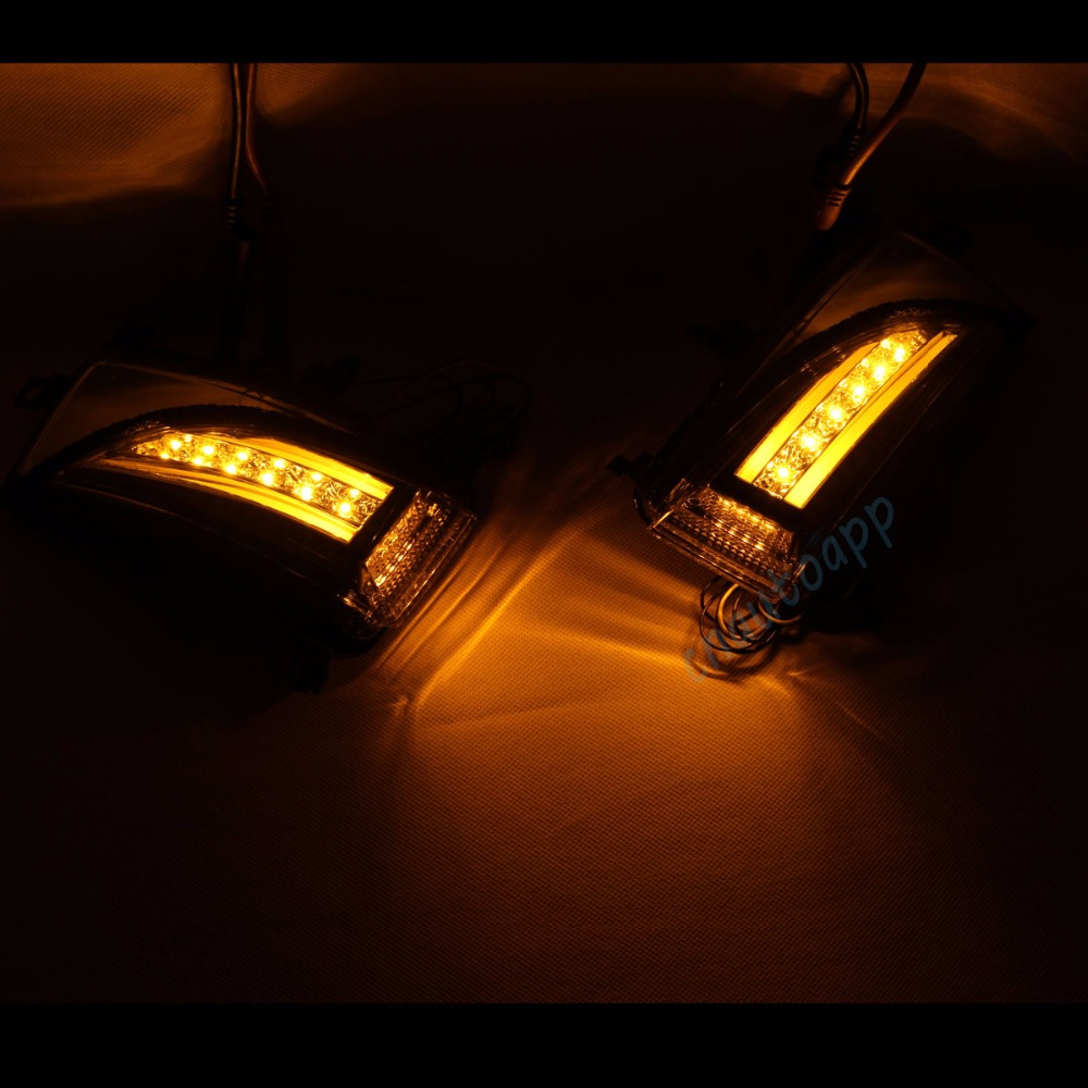 nissan Rearview Mirror LED Light 5