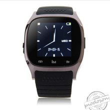 Smart Bluetooth Watch Smartwatch M26 with LED Display Barometer Alitmeter Music Player Pedometer for Android IOS Mobile Phone(China)