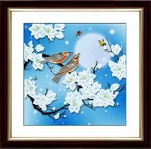 46 см x 46 см 3D Бисероплетение набор цветок Bird китайской живописи серии 11ct количество точным набивные ткани вышивка крестиком из бисера вышивк...(China)