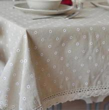 New Arrival Table Cloth Floral Pastoral Style Fresh High Quality Lace Universal Tablecloth Decorative Table Cover Hot