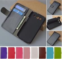 Leather Flip pu Case For Samsung Galaxy S3 Neo i9301 GT-I9301 GT-I9301I S III I9300 GT-I9300 Duos i9300i Phone Cover Brand(China)